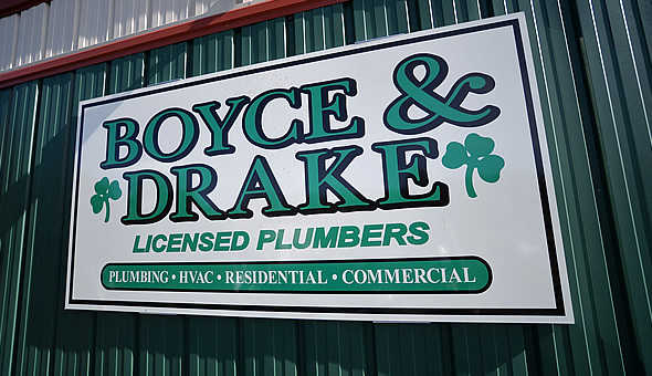 Boyce and Drake office sign